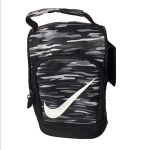 Nike Lunch Dome Bag Tote Insulated Zip Black Camo